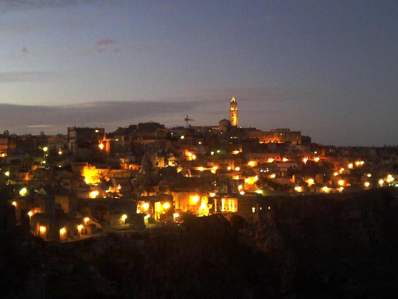 Matera by night  Dreaming Matera