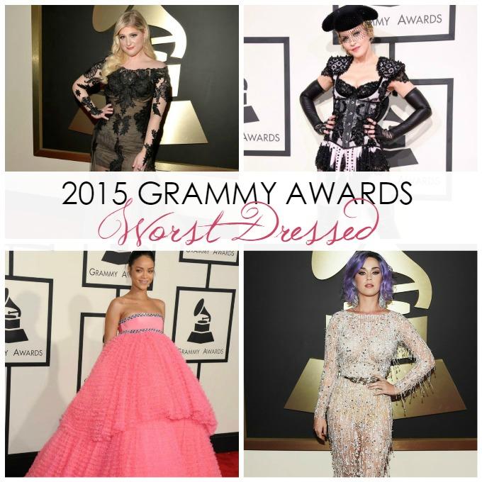 10 Worst Dressed List of the 2015 Grammy Awards