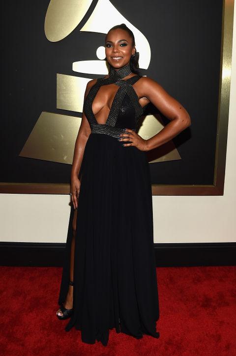 Ashanti at the 2015 Grammy Awards