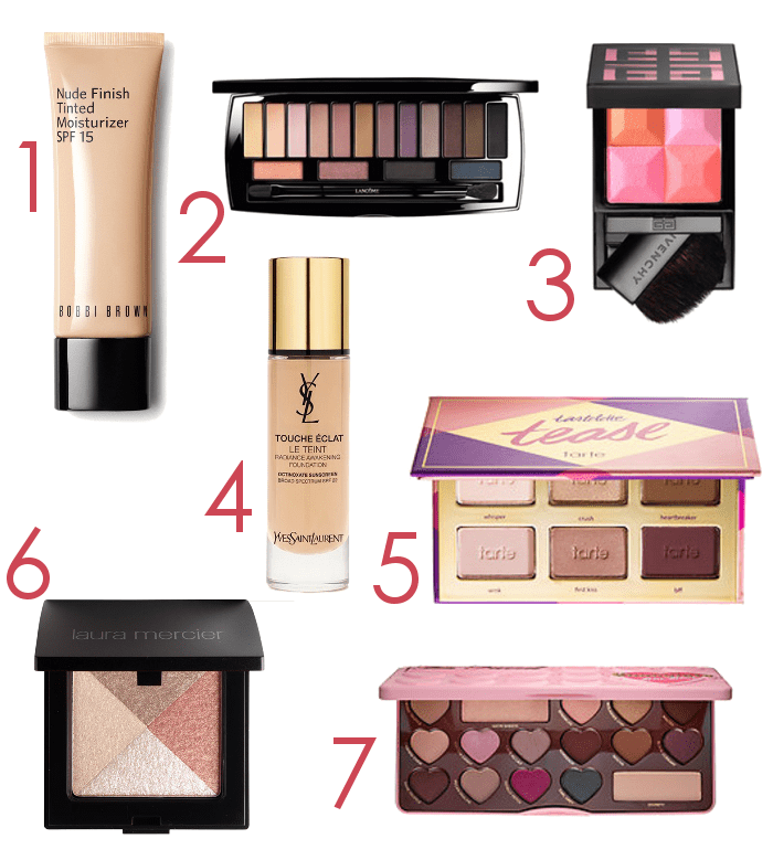 Spring 2016 Makeup Releases - www.dreaminlace.com