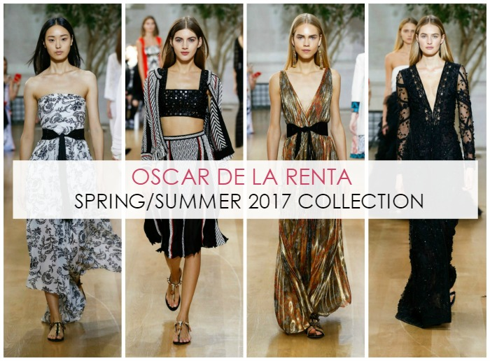 11 Best Oscar de la Renta SS17 Runway Looks - Dream in Lace