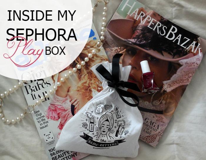 Peek inside my Play by Sephora November Box - Dream in Lace