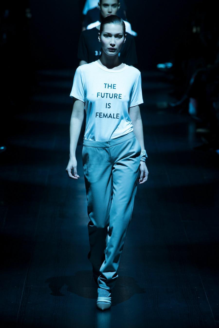 Prabal Gurung Feminist Fall 2017 Runway Finale - NYFW
