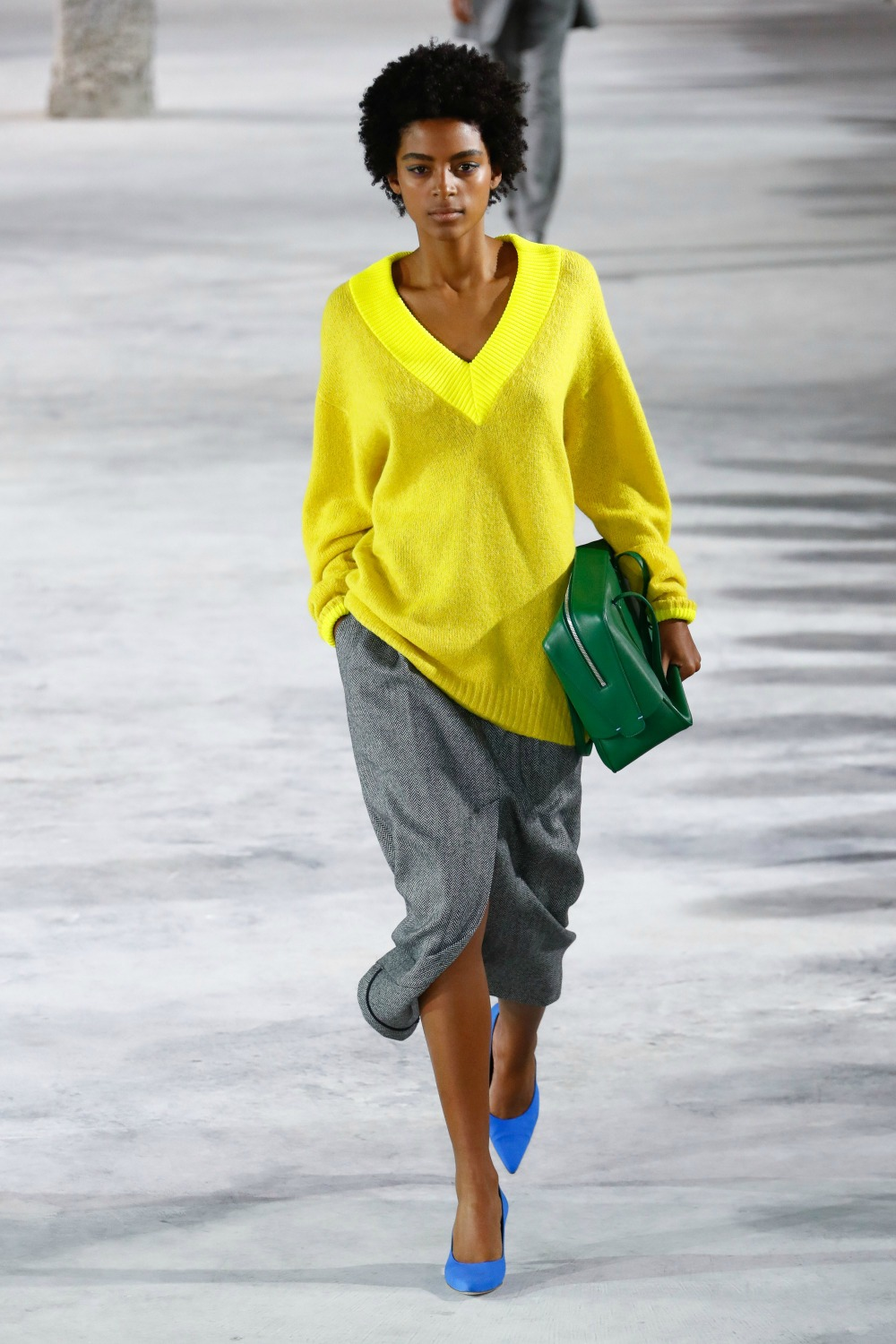 Yellow Fall Fashion Trend on the Tibi FW18 Runway at New York Fashion Week #FallFashion #FallTrends #Runway #FashionWeek #NYFW #FallStyle #FallTrends