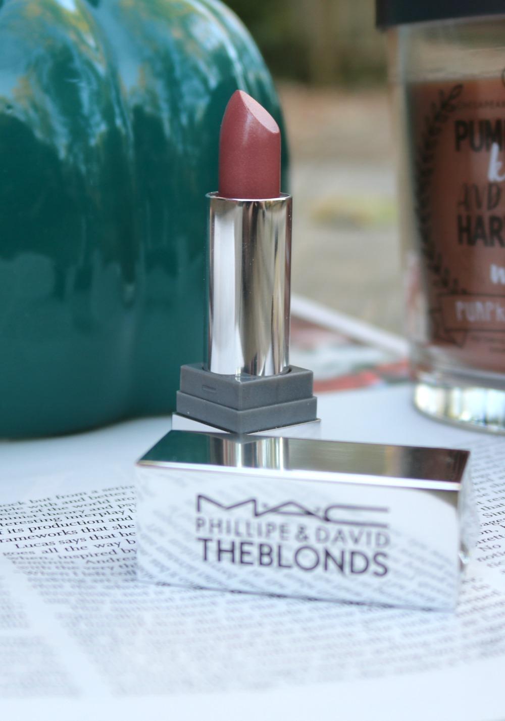 The Blonds Mac Lipstick in 'DavidBlond' I DreaminLace.com #Lipstick #Mac #Makeup