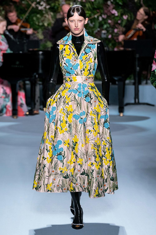 Best London Fashion Week Looks Off the Fall 2019 Runways I Richard Quinn #FashionWeek #LFW #DesignerFashion