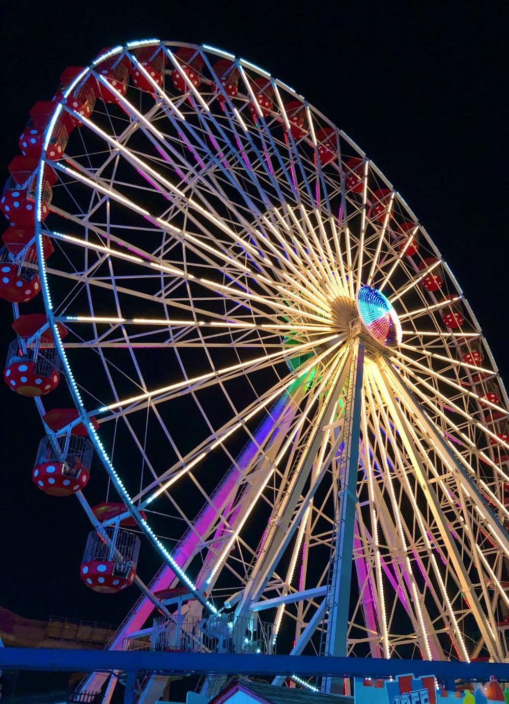 Jersey Shore Photo Diary I Ocean City Boardwalk Ferris wheel #Travel #TravelBlogger #TravelPhotography