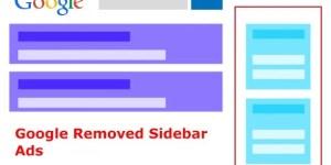 Google Removed Sidebar Ads
