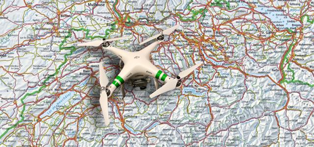 Drohnen Air-Map (Hotspots)