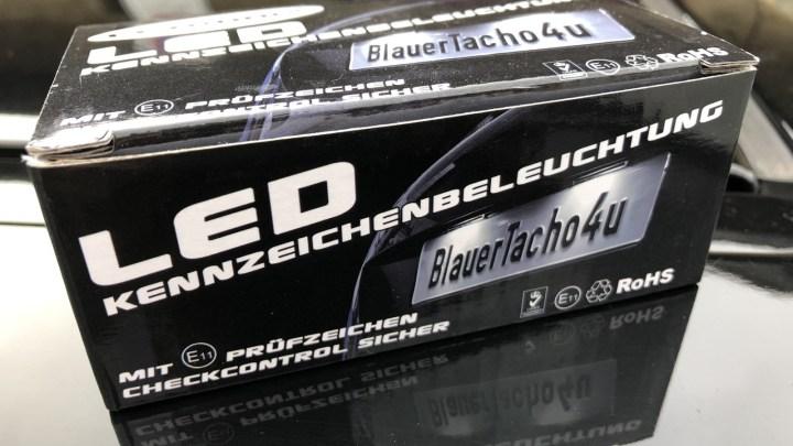 BlackLily | Anpassung Kennzeichenbeleuchtung