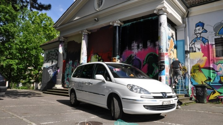 Fahrzeugbeschriftung Peugeot 807