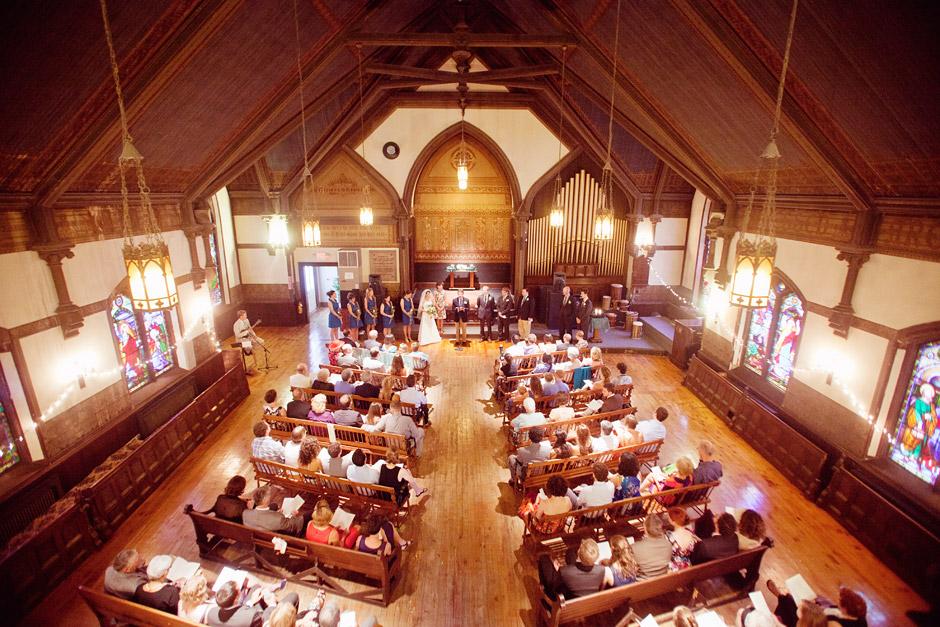 Brattleboro VT Wedding Photography Stone Church Art Museum Reception