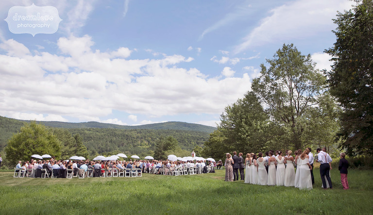 Romantic Summer Wedding at the 1824 House in Vermont