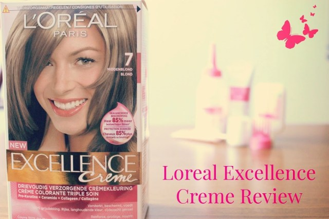 Боя за коса Loreal Excellence Creme
