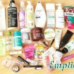 Изхабени продукти Юли 2016