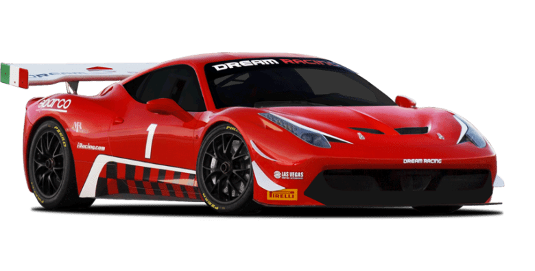 Drive a Ferrari 458GT Race Car– Dream Racing