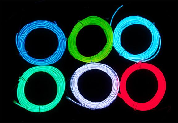 Wearable Electronics: How to make an EL wire hoodie   headbugz