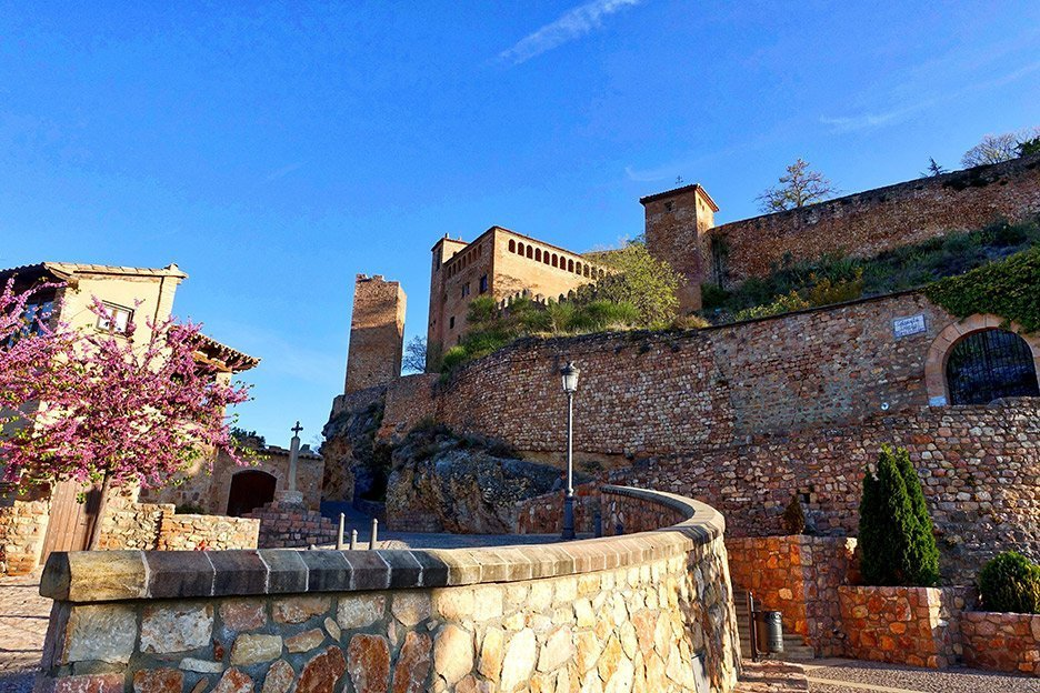A citadel castle in Alquezar.