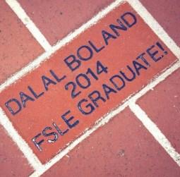Dalal Boland 2014 Graduate