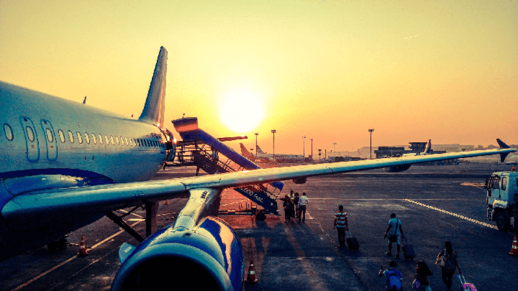 airplane travel abroad move expat