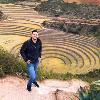 traveling peru moray abroad archaeological tyler black