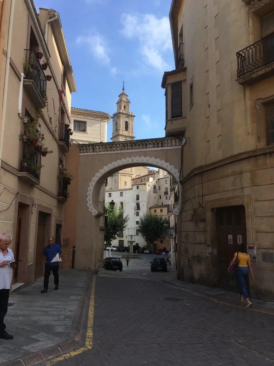 teach abroad downtown Spain