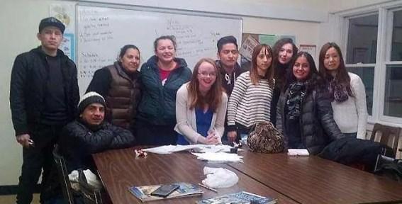 spanish esl teacher teaching in the us