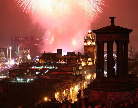 Hogmanay Edinburgh New Year Eve