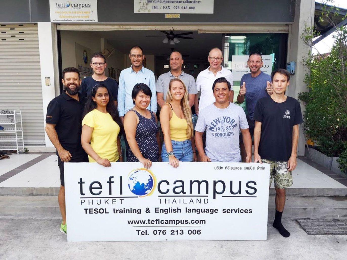 Teaching English in Thailand TEFL Campus