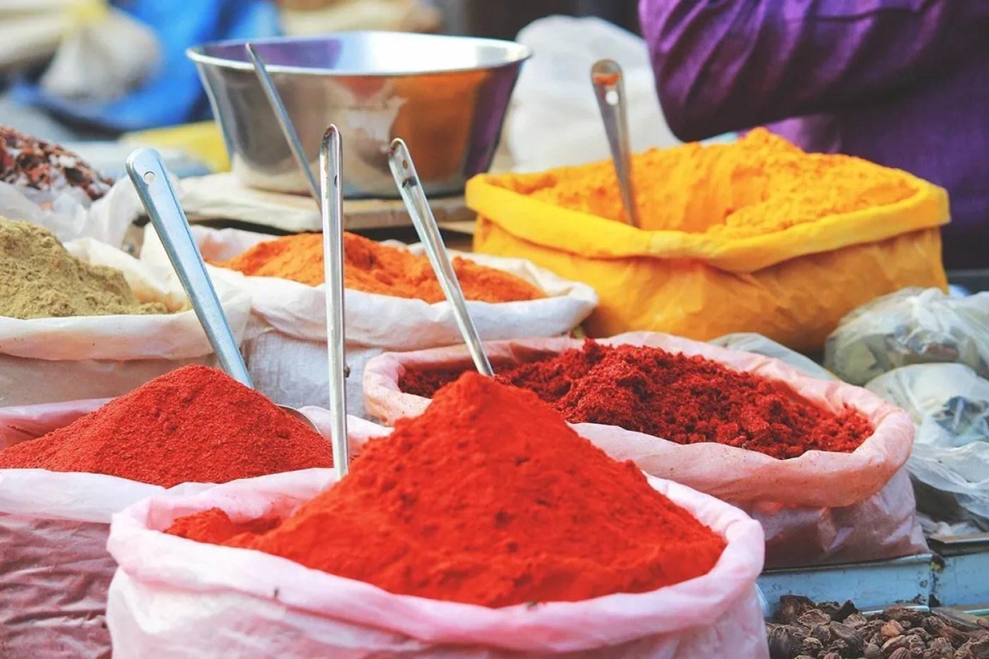 colour in india