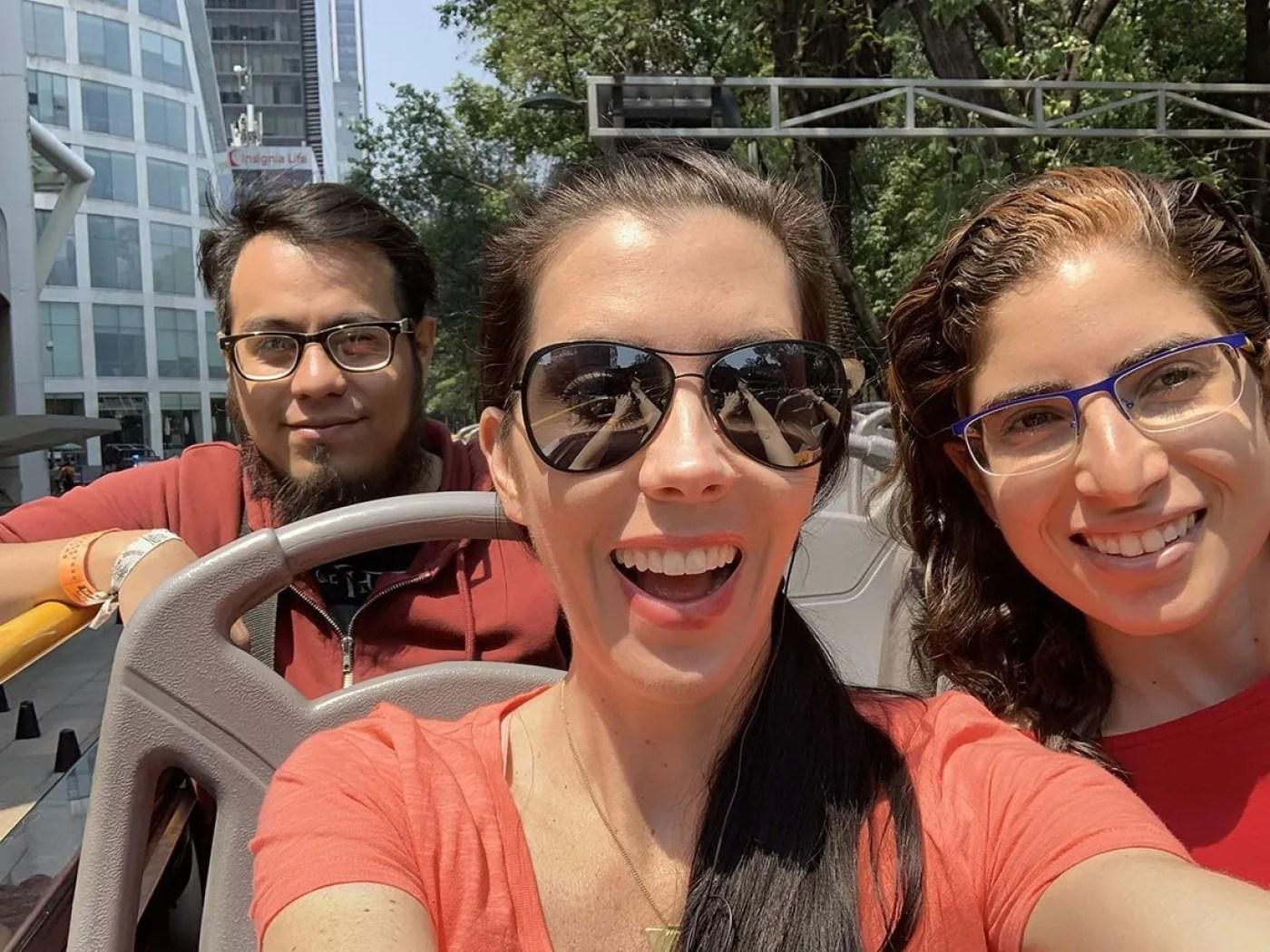 mexico city tour bus