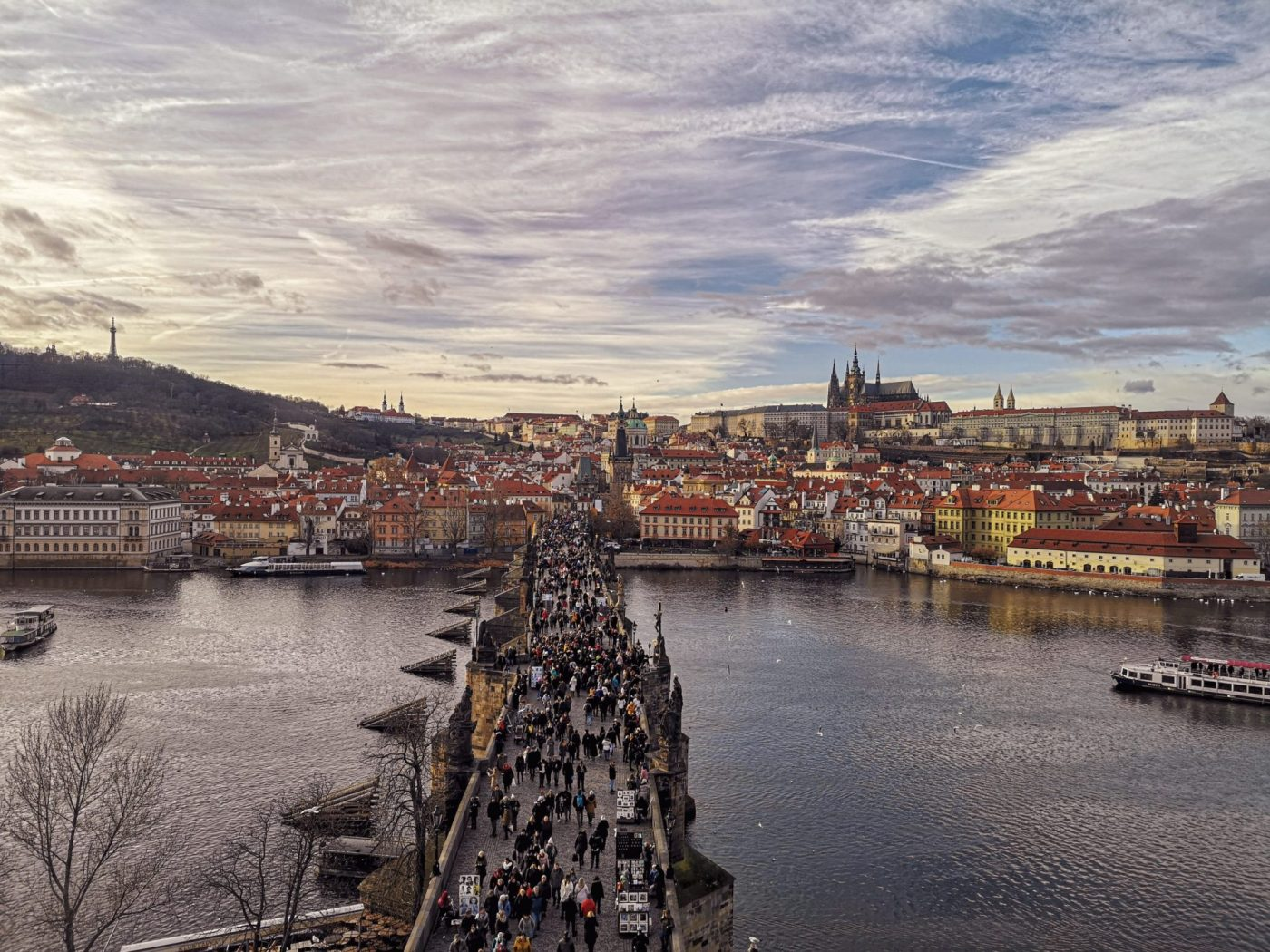 The Charles Bridge, which Lucy and Matt saw whilst travelling as a couple