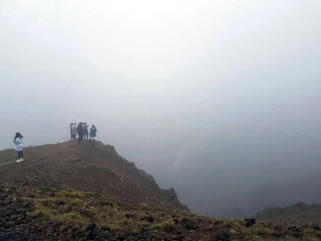 Hveragerði foggy ridge