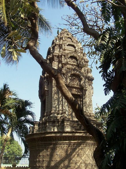 One of many city temples