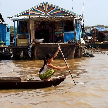 Traveled to Phnom Penh, Cambodi