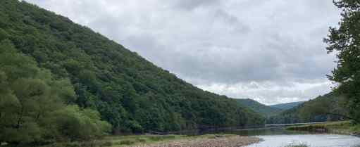 Mountains and River at Big Run State Park