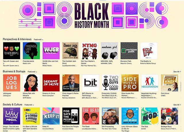 Apple Podcast Black History Month