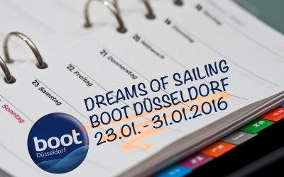 Dreams of Sailing auf der boot in Düsseldorf