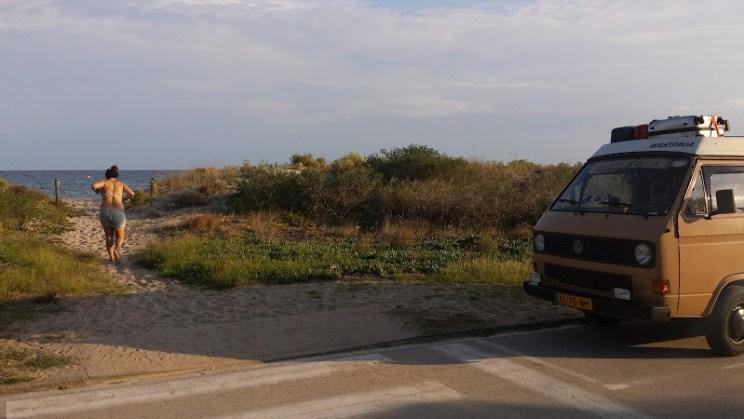 south spain beach