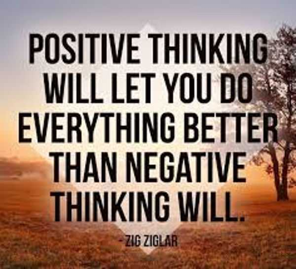 Quotes About Positive Thinking Mesmerizing The Power Of Positive Thinking And Attitude Quotes Thinking Will Do