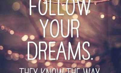 best dreams aspiration quotes on life Follow your dreams come true quotes