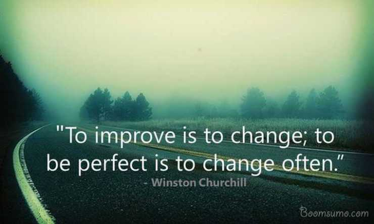 Inspirational Quotes About Life Lessons Changes Always Perfect