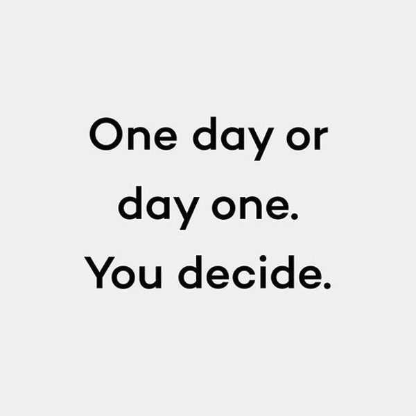 Inspirational Quotes about life 'One Day You Decide
