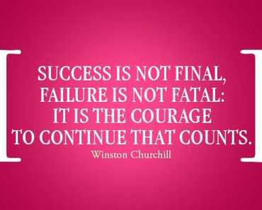 success quotes about success courage to continue