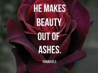 Inspirational Bible quotes He Makes Beauty comforting bible verses