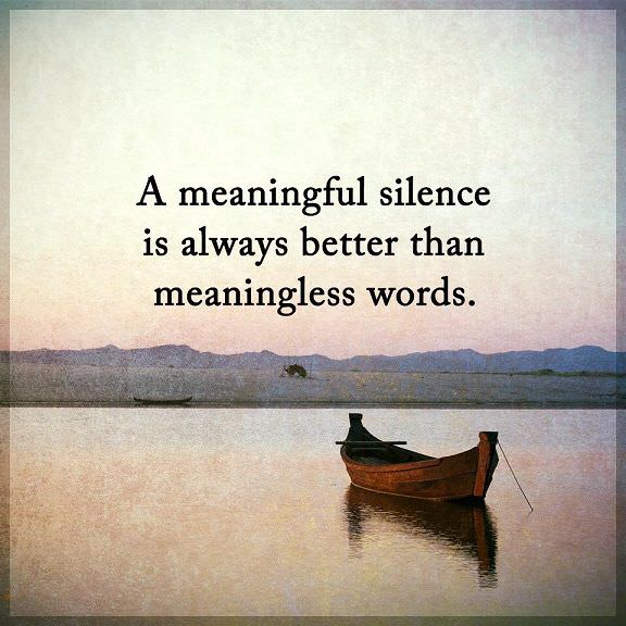 Quotes That Are Inspirational About Life Magnificent Inspirational Life Quotes Silence Always Better Than Meaningless