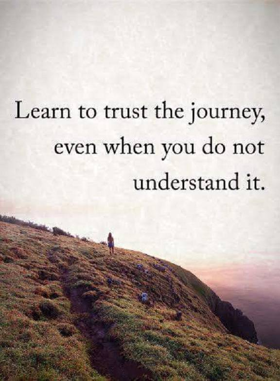 Encourage Quotes About Success Learn To Trust When Dont Understand