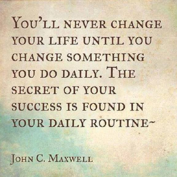 Inspirational Positive Quotes The Secret Of Success You Must Change Cool Positive Quotes About Change