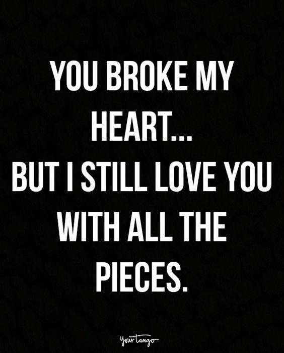 44 Wonderful Quotes To Mend A Secret Broken Heart 1