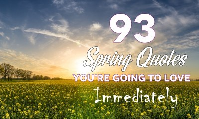 93 Spring Quotes Youre Going To Love Immediately